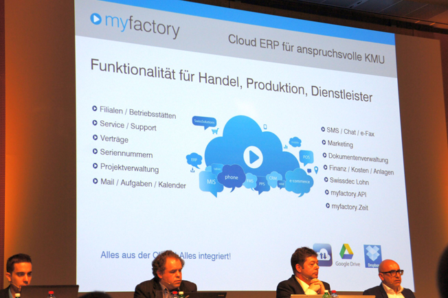myfactory Funktionen beim Software Contest 2016